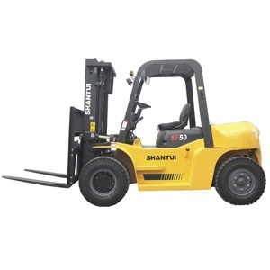 Shantui cheap price 5 ton forklift truck for sale