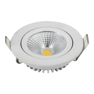 Dim to warm light energy saving aluminum die cast CE cob 5w downlight dimmable spotlight dim to warm light for hotels