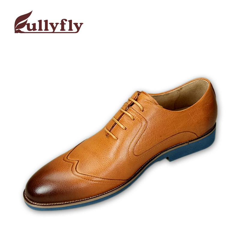 shoes leather shoes men cow leather shoes genuine dress RgwBqw4