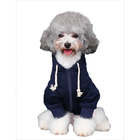 Dog clothes autumn and winter wear pet zipper printing Teddy than bear Bomei schnauzer puppy hoodie