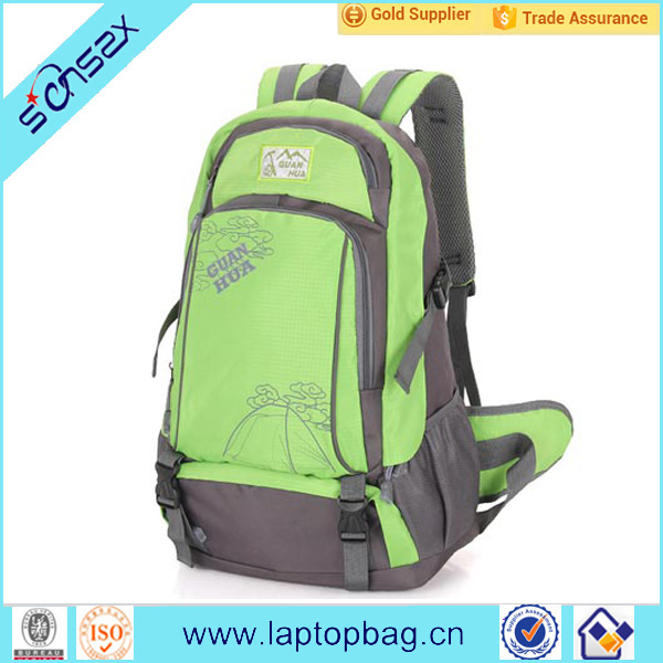 Outdoor sports hiking backpack bags with rain cover waterproof