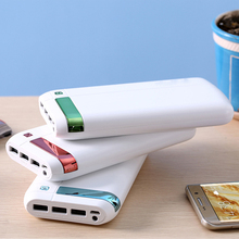 Mobile power bank 3 usb for philips, power bank charger 20000mah