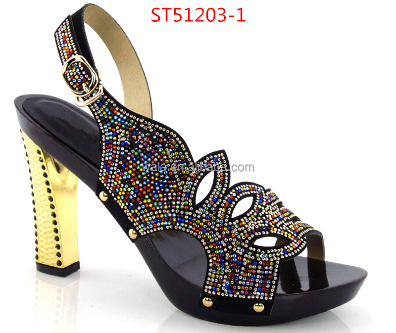shoes top party sexy wedding sandals party bride for shoes ST51203 for shoes peep yellow 3 rhinestone zWY0qagY