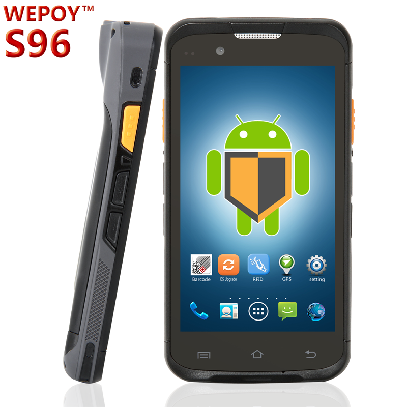 IP65 Rugged logistic Handheld PDA barcode scanner terminal Android