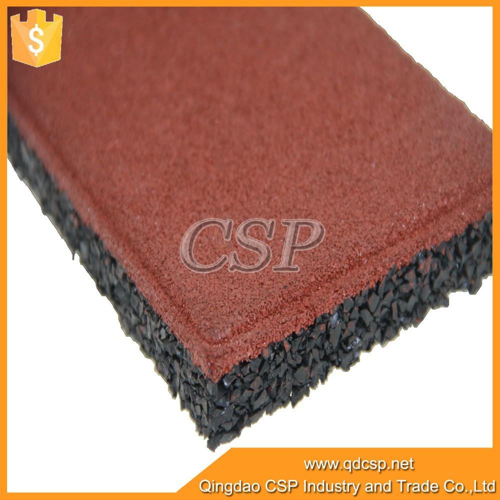 Fabrica precio barato suelo de caucho inferior utilizado - Suelo de caucho precio ...