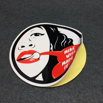 full color printing round paper label sticker,waterproof adhesive circle vinyl sticker label