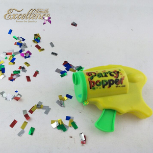 Best Seller Factory Supplier Happy Birthday Colorful Party Popper Gun For Party Colorful Firework