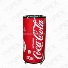 Bottle drink cooler for coca cola drink convenient barrel cooler