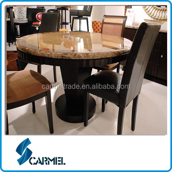 Luxury Granite Top 48 Inch Round Dining Table Luxury Granite Top