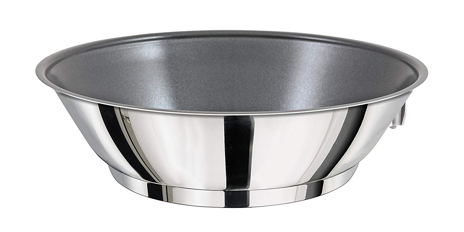Magma Products, A10-369 Gourmet Nesting Stainless Steel Saute/Omelette Pan