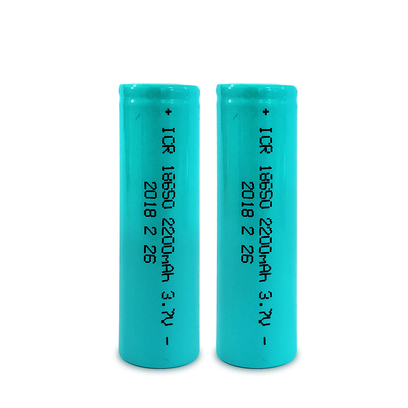 Shenzhen doublepow 18650 3.7v 2200mah lithium rechargeable battery