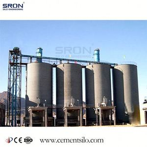 Stainless Steel Cement Silo Provider with EPC project
