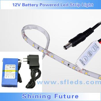 12v Battery Powered Rechargeable Led Strip Light