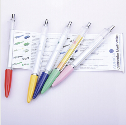 China wholesale market adveresting banner feature ballpoint promotion pen with roll out paper your logo