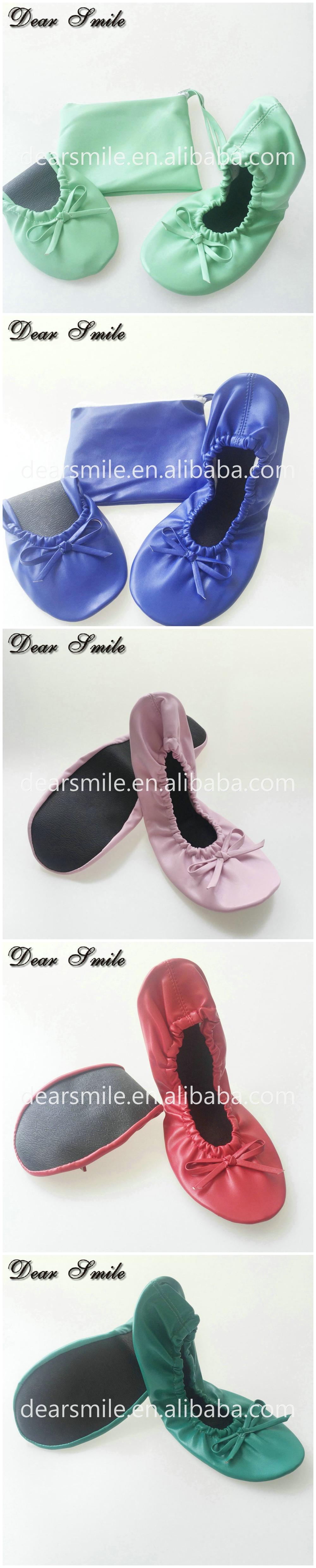 Blue XL LARGE Size Flat Pumps Women Foldable Ballet Shoes in Bag UK SIZE 8//9