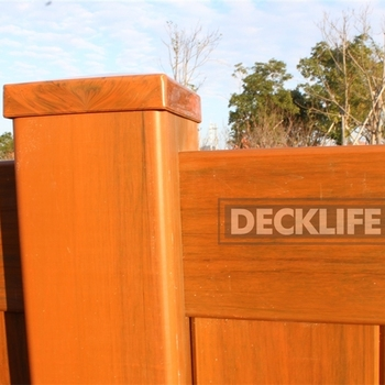 New Designs Red Teak Pvc Privacy Fence Dp6x8 6078 View Pvc Fence