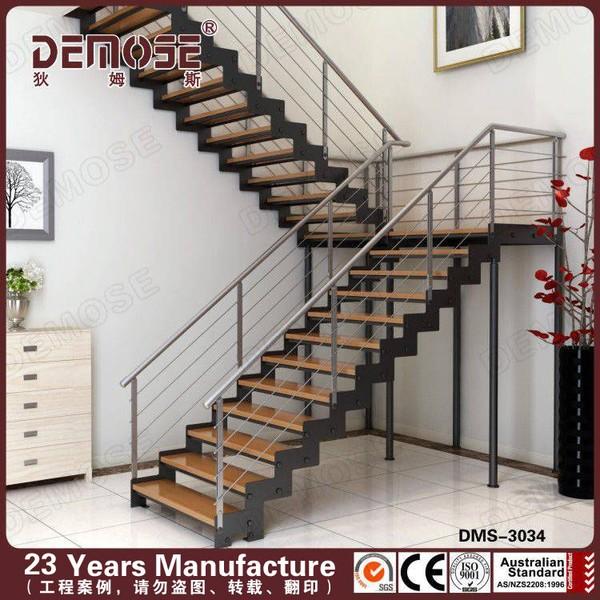 Prefab steel stairs residential buy prefab steel stairs for Prefab staircase