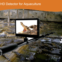 1080P HD Digital Underwater Waterproof Camera with 5m Telescopic Pole and 7