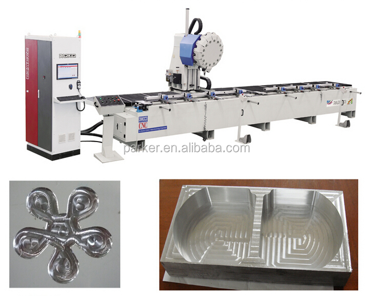 aluminum cutting machinery with Italy brand Digital dispaly