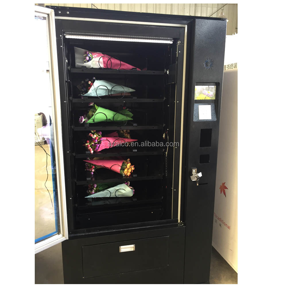 Fresh Flower Vending Machine With Cooling System And Lift - Buy Fresh  Flower,Vending Machine,Dispenser Product on Alibaba com