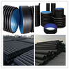 600mm Double wall corrugated hdpe water drain pipe