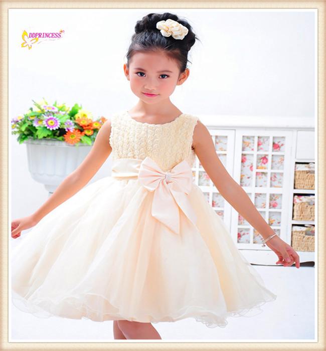 Белые свадебные платья для девочек