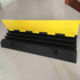 Heavy duty 900*500*70mm 3 slots/holes cable protectors ,cable ramp floor cover, PVC cable protector