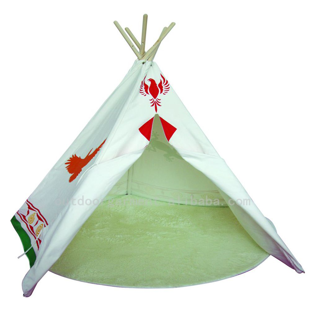 TP17 Zhejiang Tulip 100% cotton canvas fabric wholesale tipi tent kids
