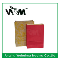 Shopping paper bag shopping bag foldable vegetable paper bag