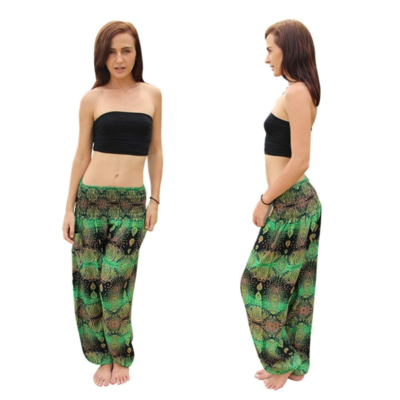 767e1d147d52f8 GoodLock Men Women Boho Hippy Harem Pants Thai Thai Harem Trousers Festival  Smock High Waist Yoga