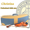 High Quality Italy Christina violin case hygrometer waterproof case for wood violino 3 4 4 4