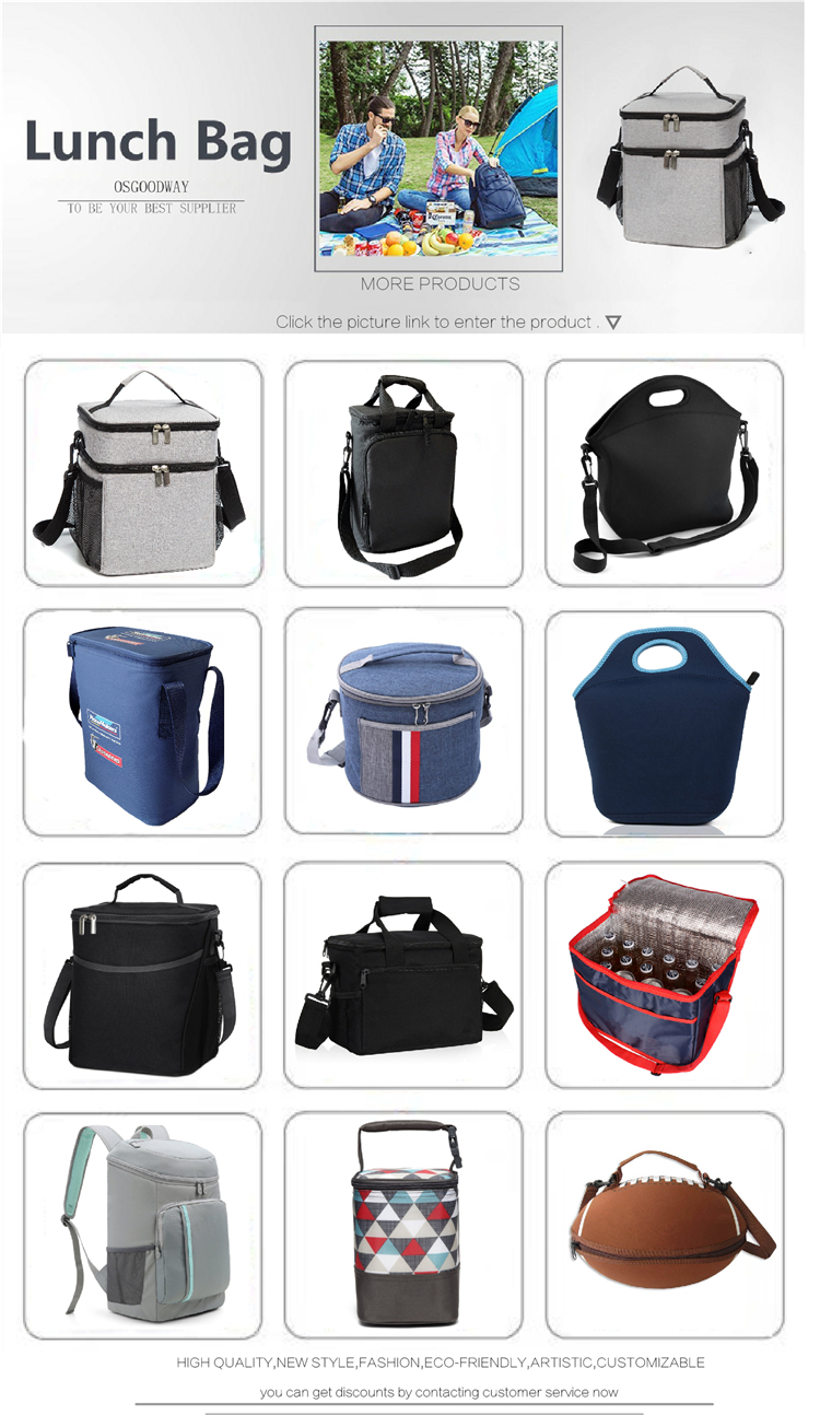 Osgoodway Hot sale new model insulated beer can cooler backpack with Bottle Opener Holds 28 cans