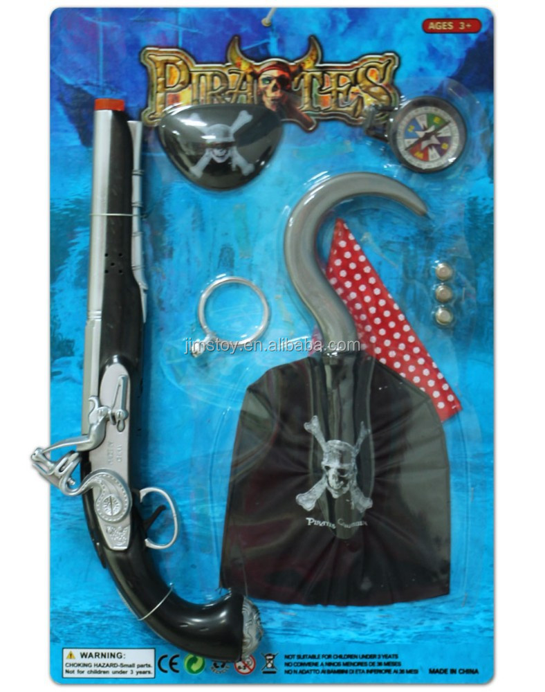 Pirate Compass Plastic Toy Gun Safe