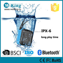 Portable Outdoor and Shower Bluetooth Speaker, Waterproof, Wireless with large capability Rechargeable Battery Life