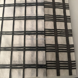 Biaxial Polyester Soil Reinforcement Geogrid white factory prices