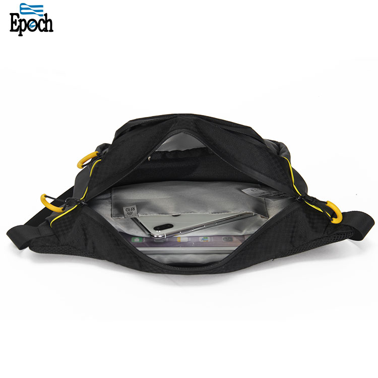 Wholesale RFID protected durable unisex running sport fanny pack waist bag