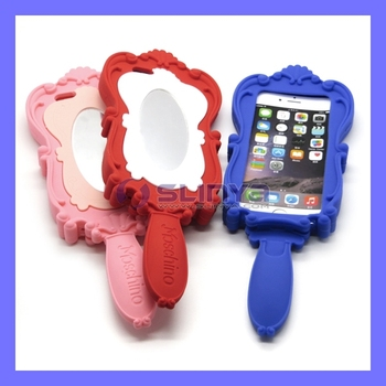 Cheap Price Silicone Mirror 3d Phone Case For Iphone 6