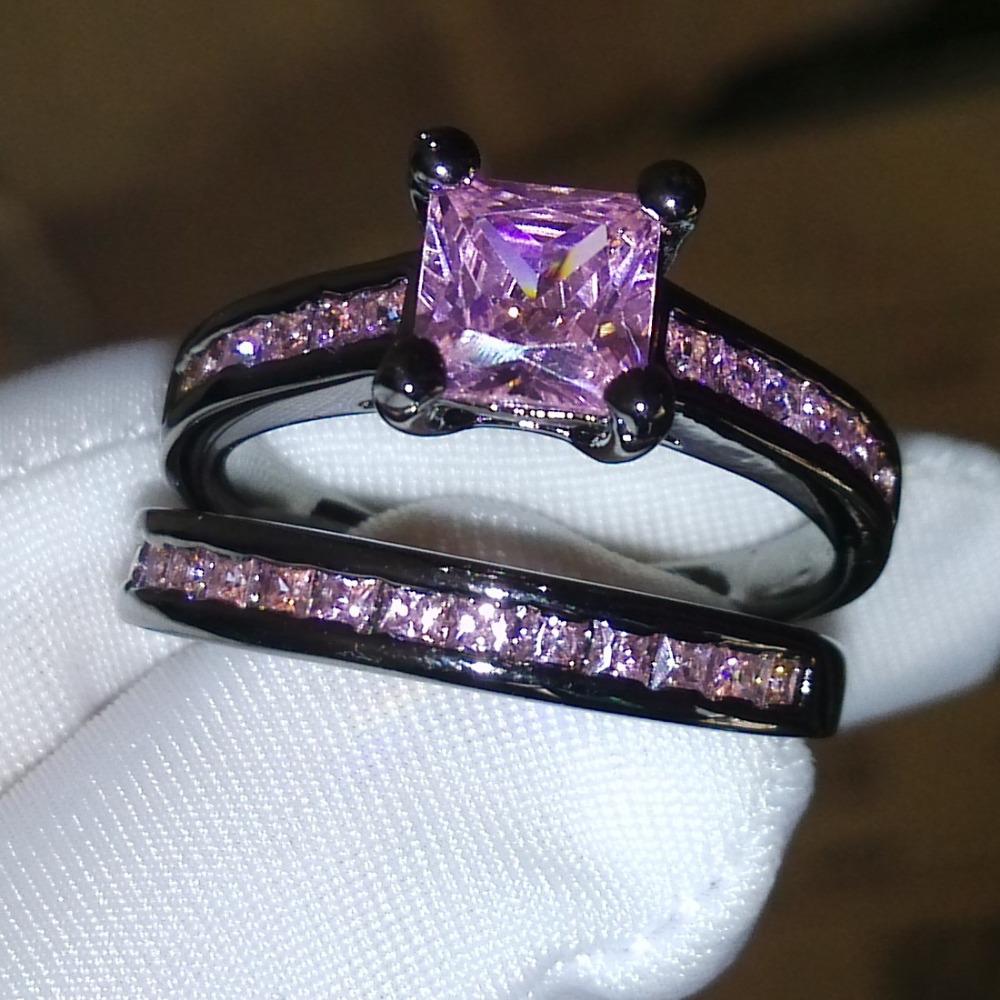 Victoria Wieck Princess Pink Sapphire Simulated Diamond