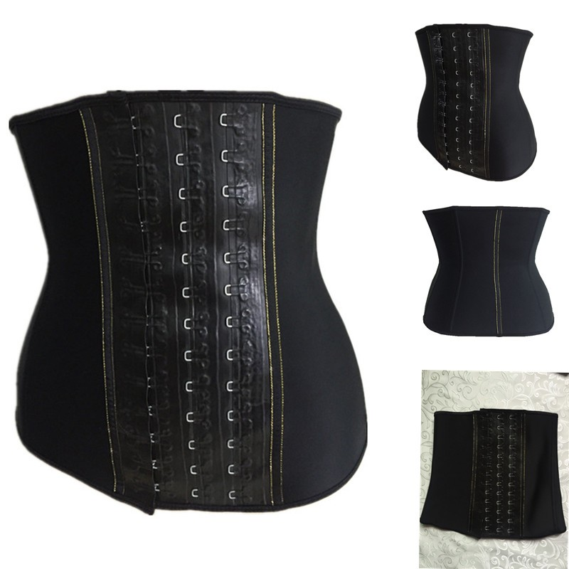 55d5dddfa High Quality Sexy Hot Slimming Nature Rubber Waist Training Waist Shaper  Corset