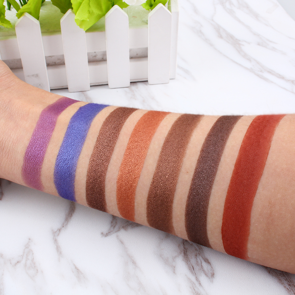 35 Warna Organik Private Label Kosmetik Makeup Eyeshadow Palette