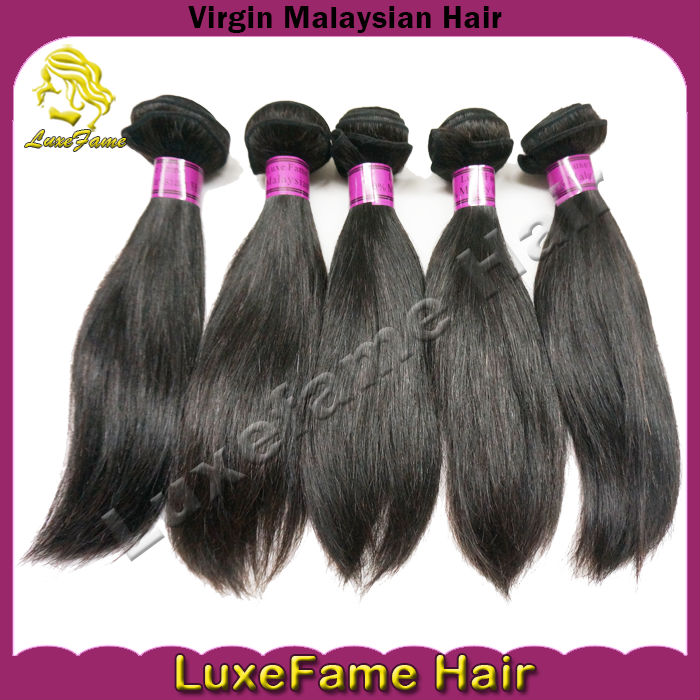 Best popular 100% raw human hair extension, malaysian virgin straight hair