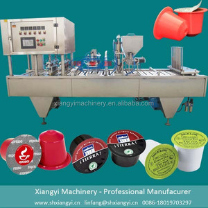 Fully Automatic Production Line Coffee Making Machines for Kcup/ Coffee Capsule Fill Seal Machine