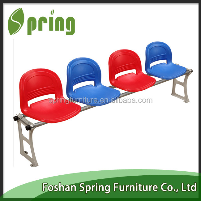 Metal base stadium seat used for soccer basketball playground QC-10