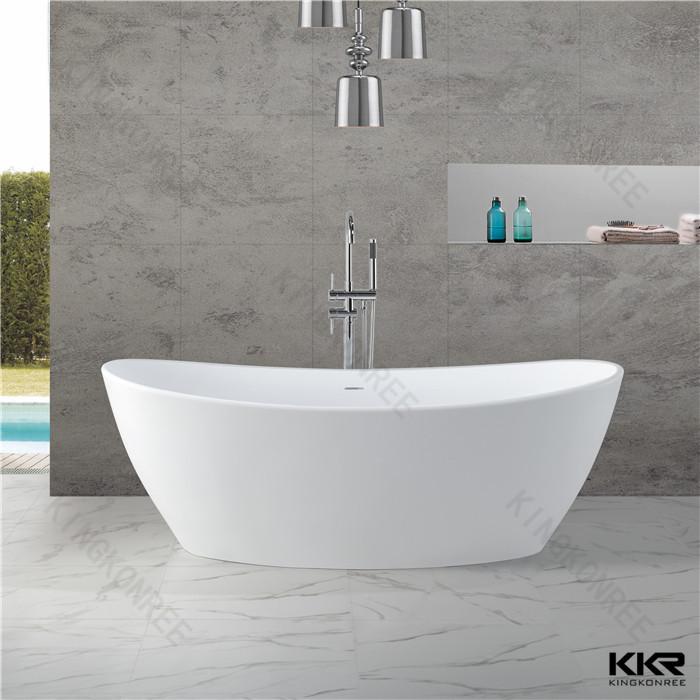 Factory Price Of Round Bathtub,Modern Resin Stone Freestanding ...