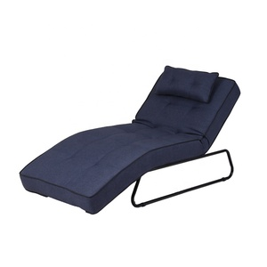 Metal folding chair chair fabric sun lounger Lounge chair water resistance