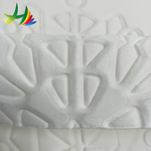 100% polyester knitted 3D net colorful soft mesh fabric for dress