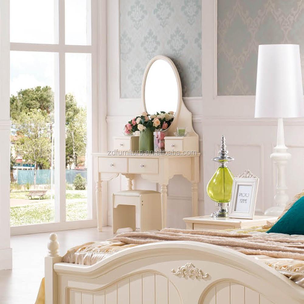 witte slaapkamer kasten kaptafel ontwerpen antieke kaptafel met ...