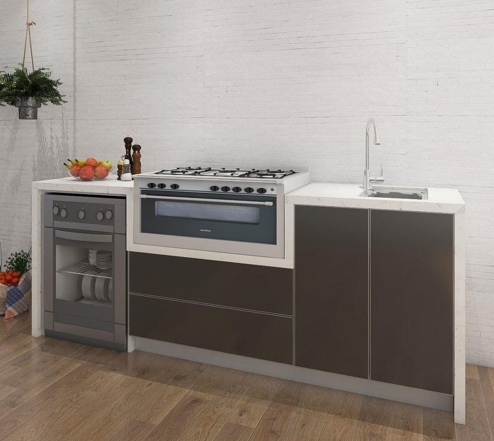 Wholesale Tempered Glass Kitchen Cabinets Online Buy