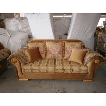 A1035 Import Stylish Villa Furniture Classic Sofa Set Solid Wood Frame  Cloth Sofa, View Cloth Sofa, Bensheng Product Details from Foshan Shunde ...