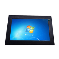 7 inch industrial touch screen lcd monitor with VGA/AV input